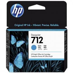 HP 712 Cyan (3ED67A)