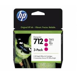 HP 712 Magenta 3pak (3ED78A)