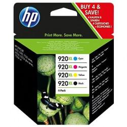 HP 920XL zestaw 4 kolorów CMYK